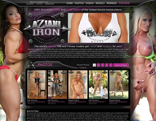 aziani iron azianiiron.com