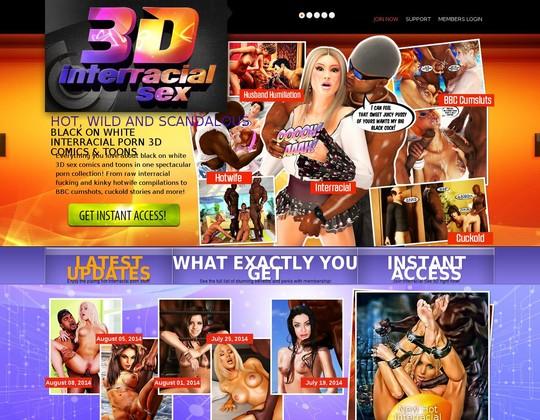 Interracialsex3d