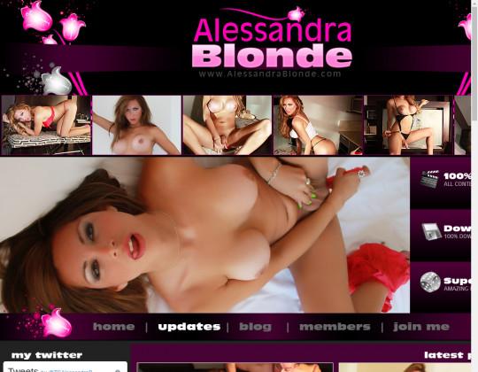 alessandrablonde.com sex