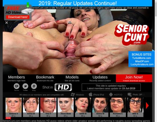seniorcunt.com free