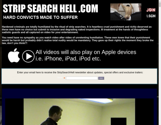 stripsearchhell.com free