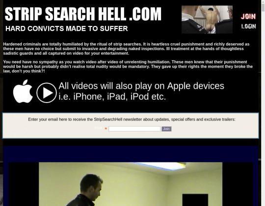 stripsearchhell.com free