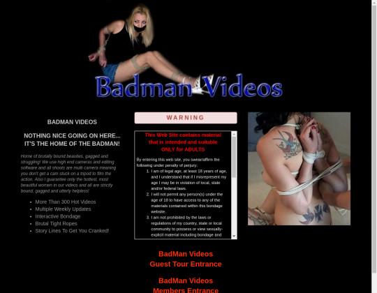 badmanvideos.com sex