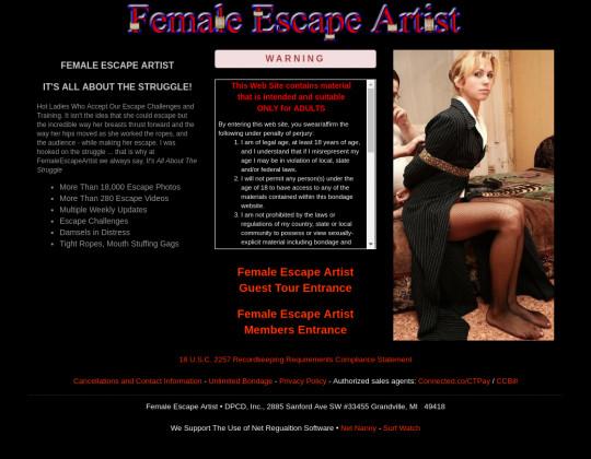 femaleescapeartist.com download