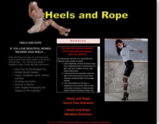 heelsandrope.com free