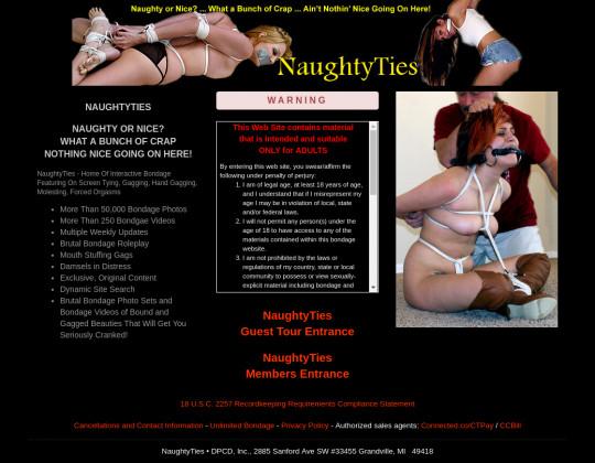 naughtyties.com porn