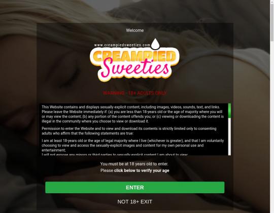 creampiedsweeties.com porn