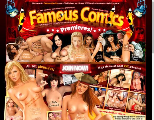 famous-comics.com download