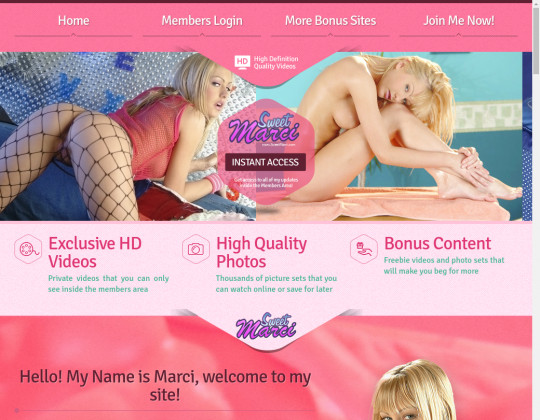 sweetmarci.com free