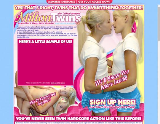 miltontwins.com free
