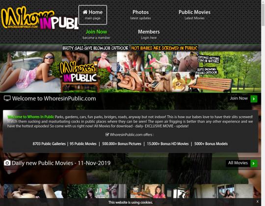 whoresinpublic.com sex