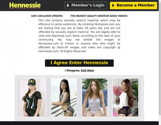 hennessie.com sex