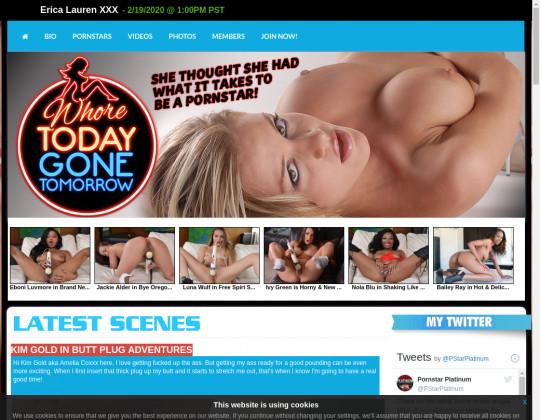 whoretodaygonetomorrow.com porn