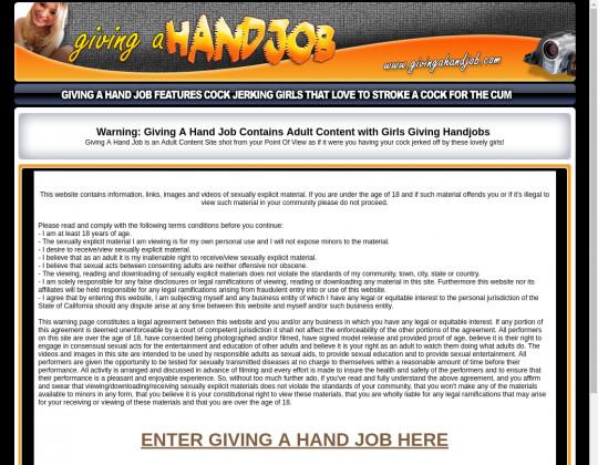 givingahandjob.com porn