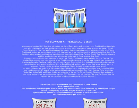 pov-auditions.com download