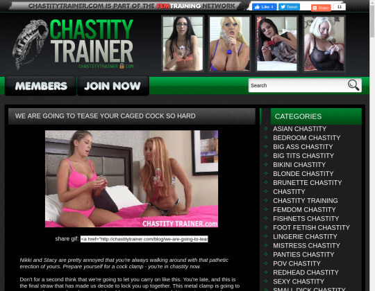 chastitytrainer.com free