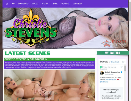 christiestevensxxx.com porn