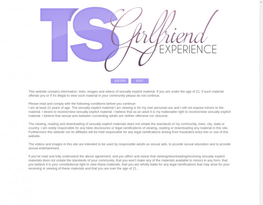 tsgirlfriendexperience.com porn