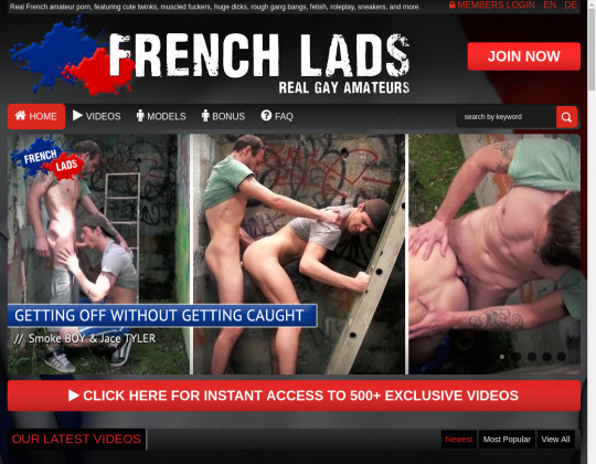 frenchlads.com sex