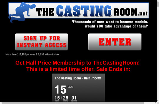 The Casting Room