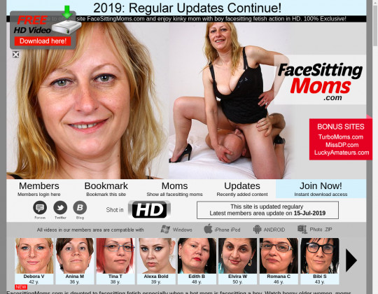 facesittingmoms.com free