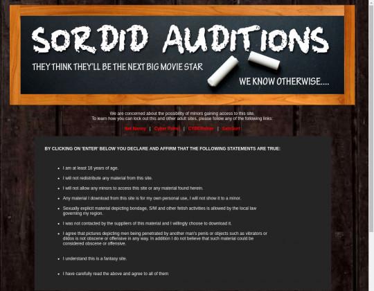 sordidauditions.com download