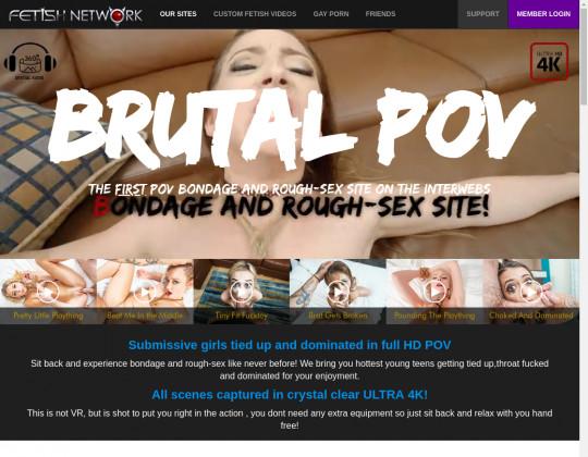 brutalpov.com sex