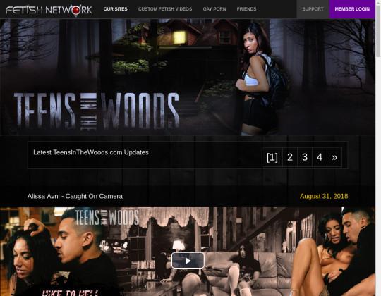 teensinthewoods.com sex
