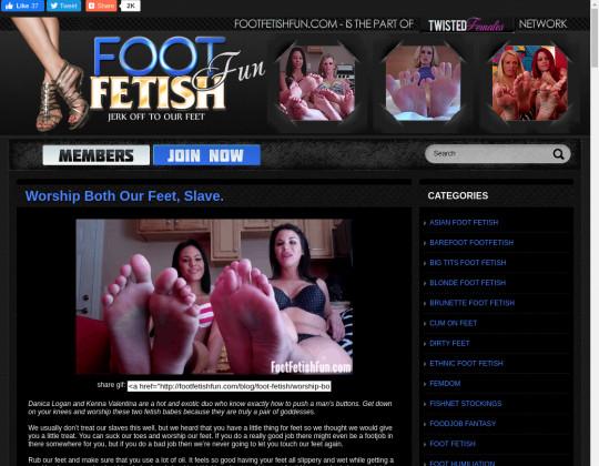 footfetishfun.com free