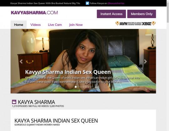 kavyasharma.com porn