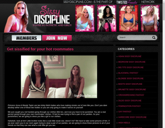 sissydiscipline.com free