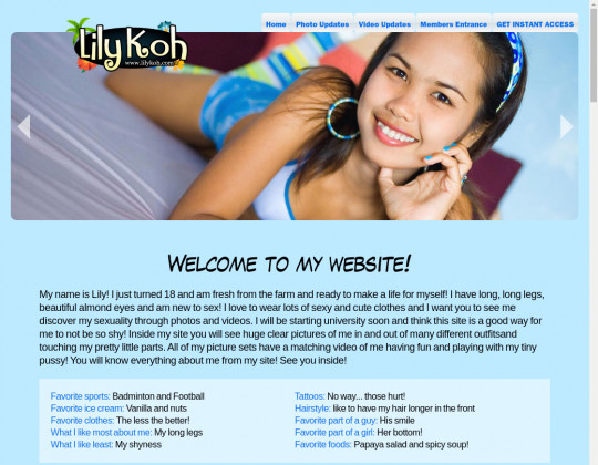 lilykoh.com free