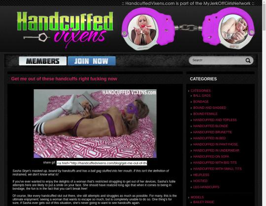 handcuffedvixens.com porn